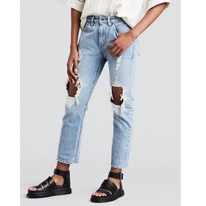 NWT Levi's Made & Crafted Straight Crop Jeans